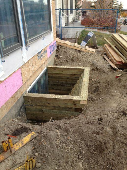 Basement Window Wells Installation Calgary Basement